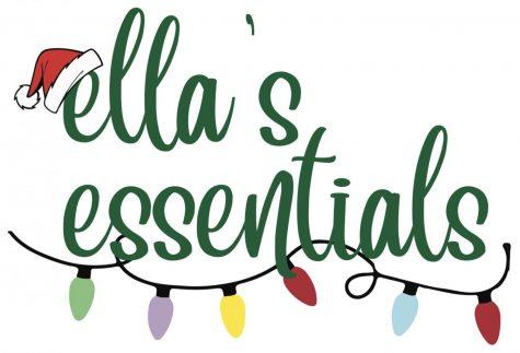 Ella's Essentials: Christmas Edition Logo made by Gina Princivalle designed with Adobe Illustrator.